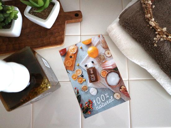 haruシャンプーに同梱されていたカードの写真